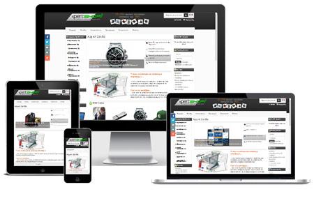 Responsive Design E-shop